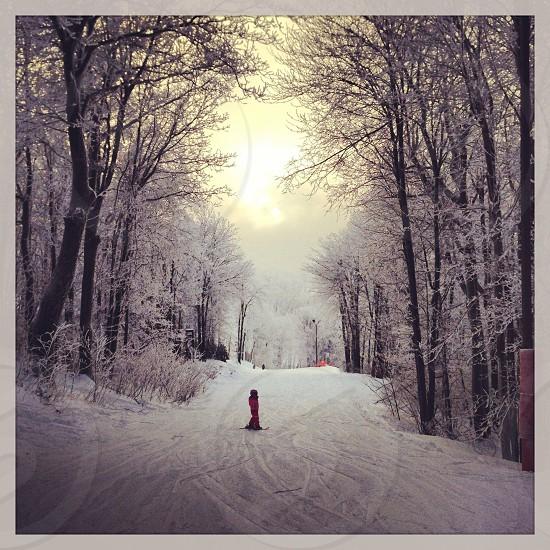 Skiing Hidden Valley photo