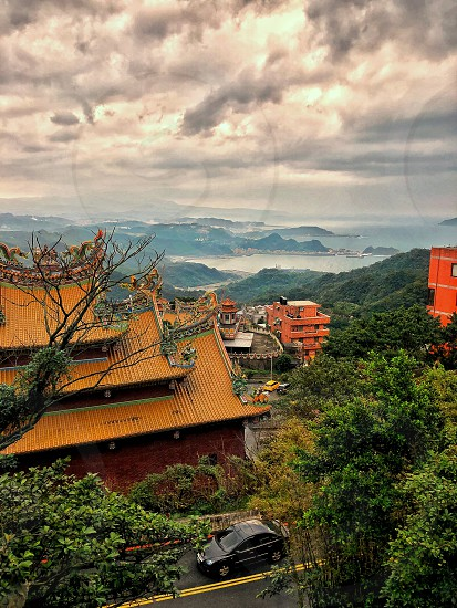 On a scenic drive just on the outskirts of Taipei.  photo