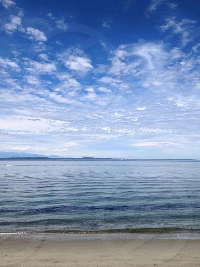 Alki Beach view photo