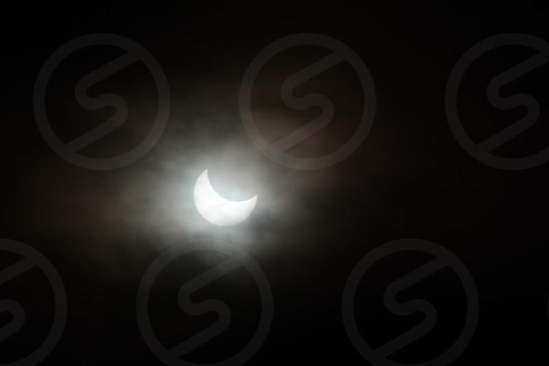 Spooky Night Moon photo