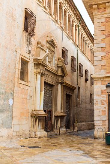 Valencia Patriarca museum in Calle Nau Nave street in Spain photo