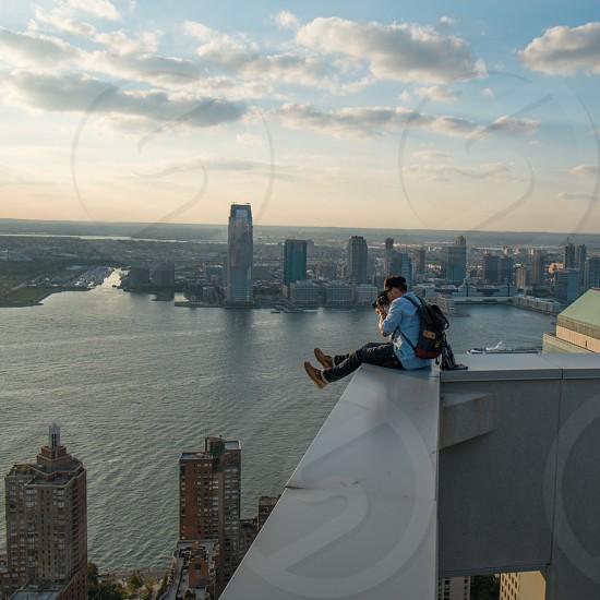 Over New York photo