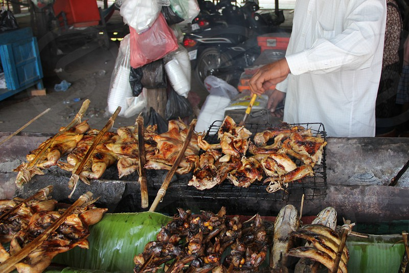 ASIAN FOOD MARKET STREET FOOD photo