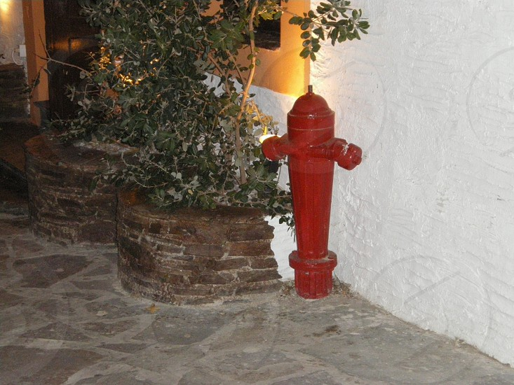 Traditional fire hydrant  photo