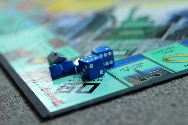 monopoly board game photo