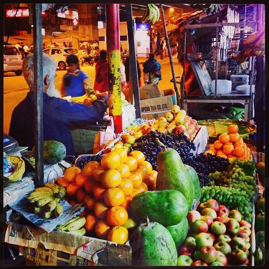 Kolkata Fruit Cart photo
