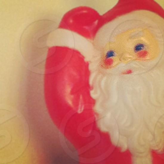 Santa Clause Christmas holiday decoration beard red photo