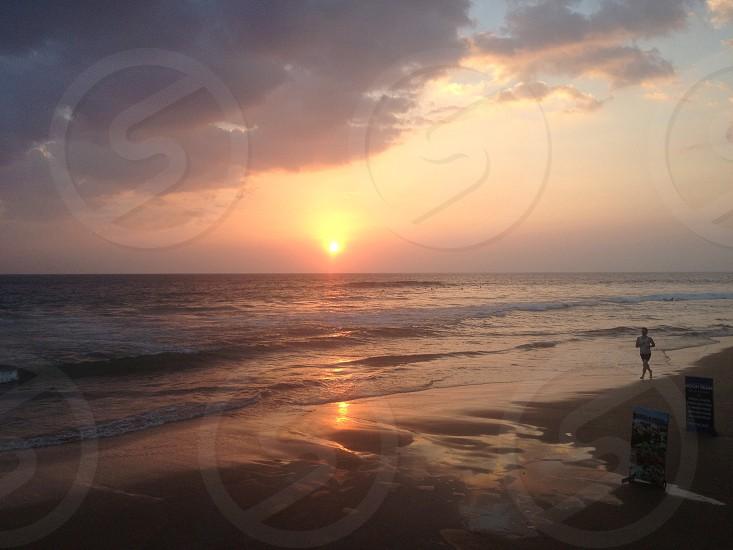 sunset view photgraphy  photo