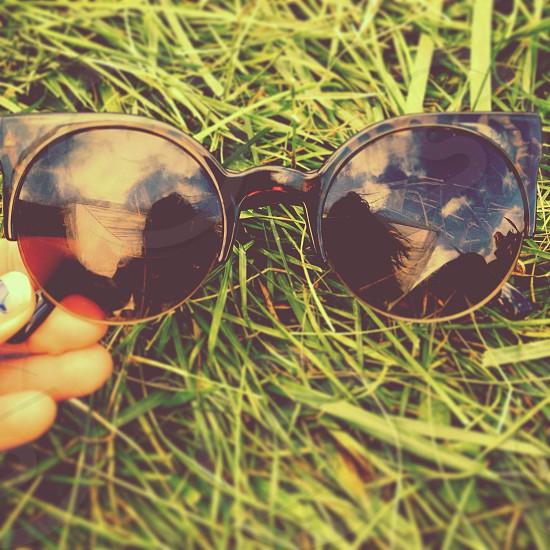 black sunglasses photo