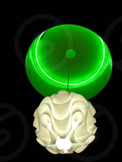 green pendant light modern photo