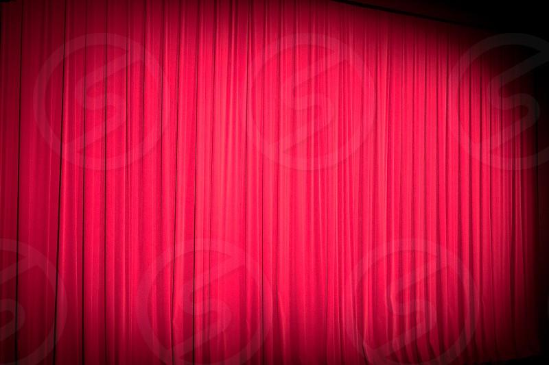 theatre curtain photo
