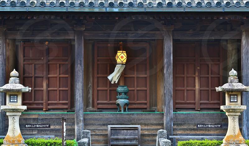 Doors (6)  Japanese Temple's Door Wooden Door Brown photo