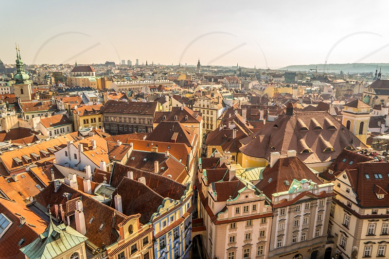Prague old town photo