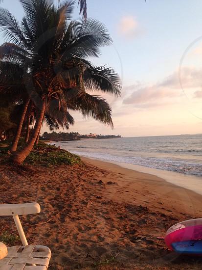 Beautiful beach in beautiful Maui Hawaii. photo