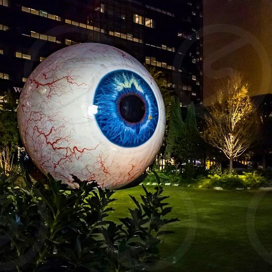 Eye; Modern Art; Dallas; Texas photo