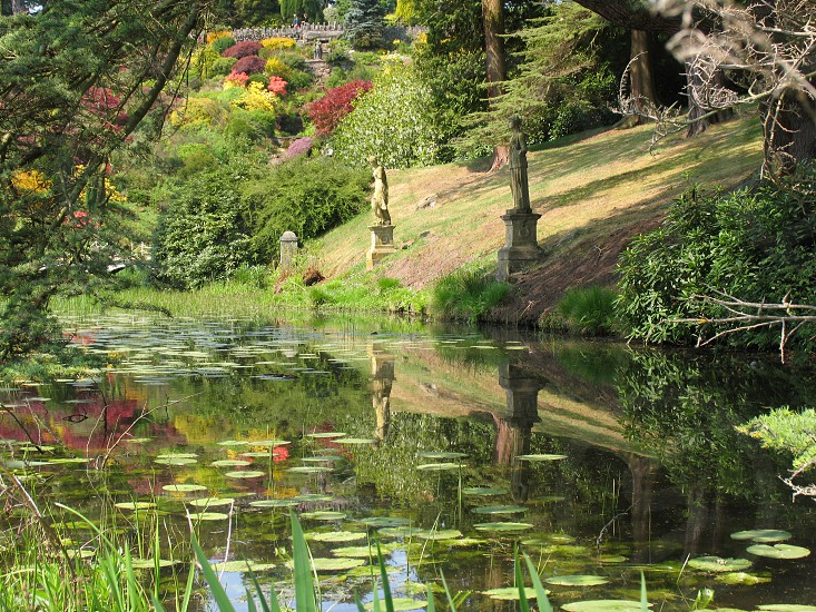 Gardens at Alton Towers Staffordshire England photo