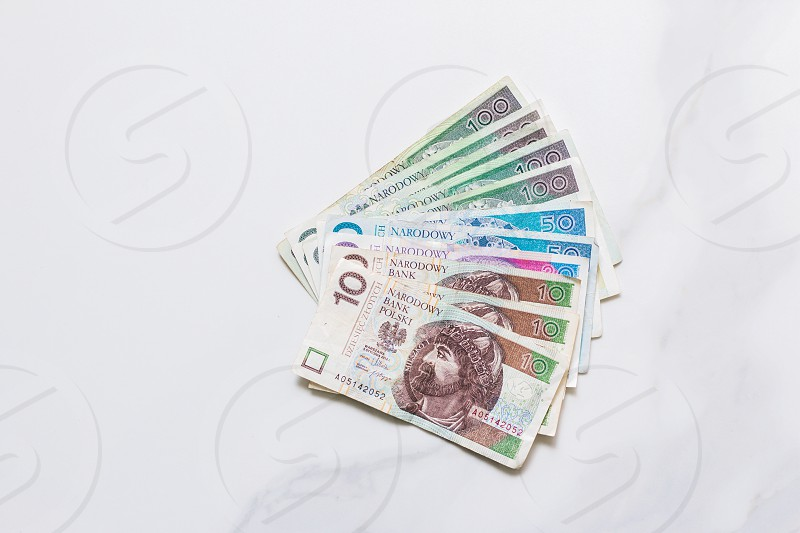 Polish money  photo