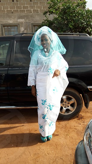 A beautiful bride on her day photo