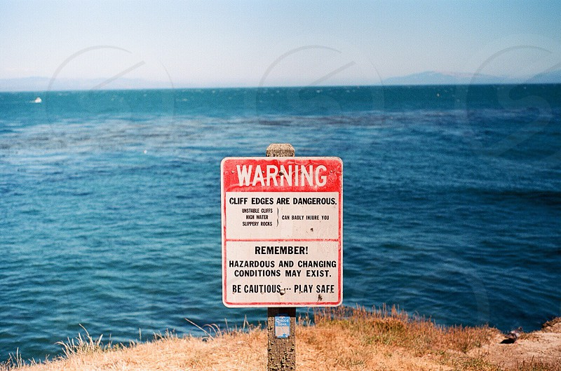 warning photo