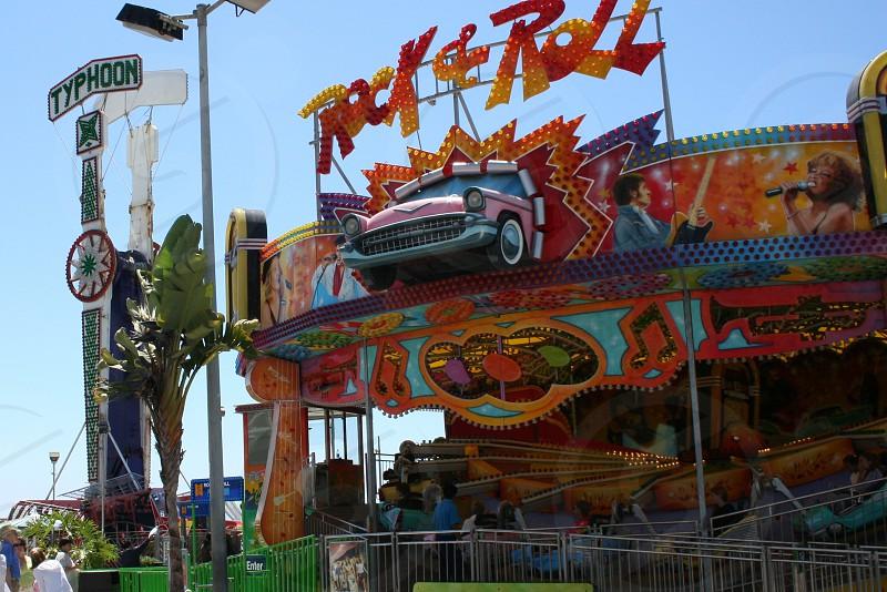 Carnival ride photo