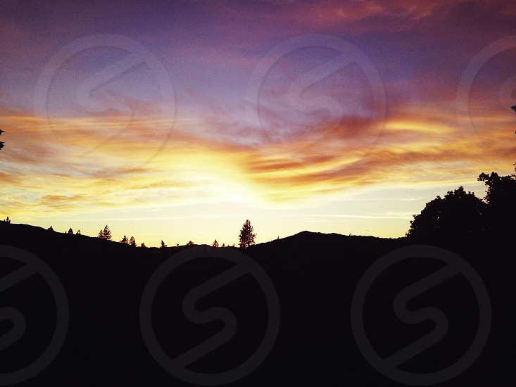 Oregon Sunset.  photo
