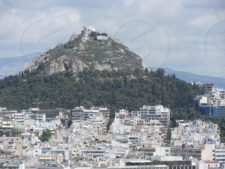 View from Athens' Parthenon  photo