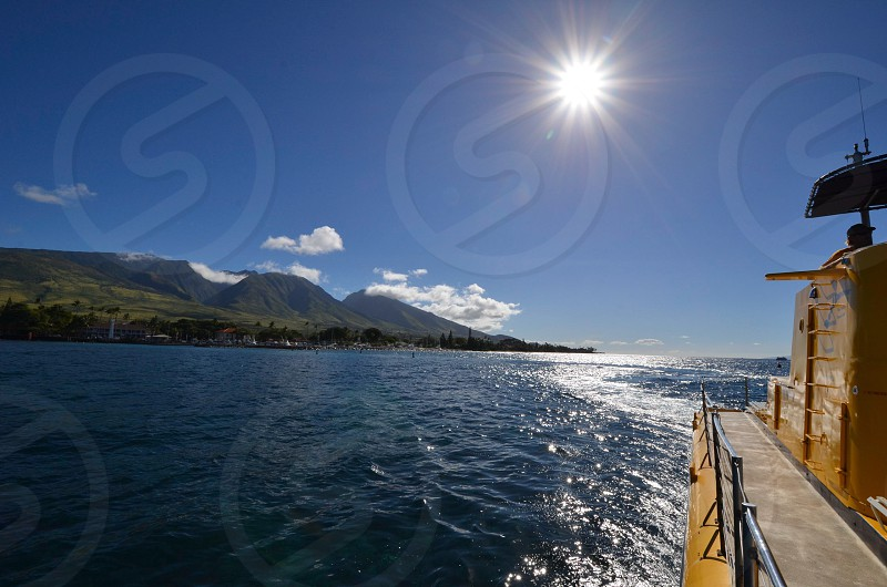 Hawaii Maui Lahaina ocean travel  photo