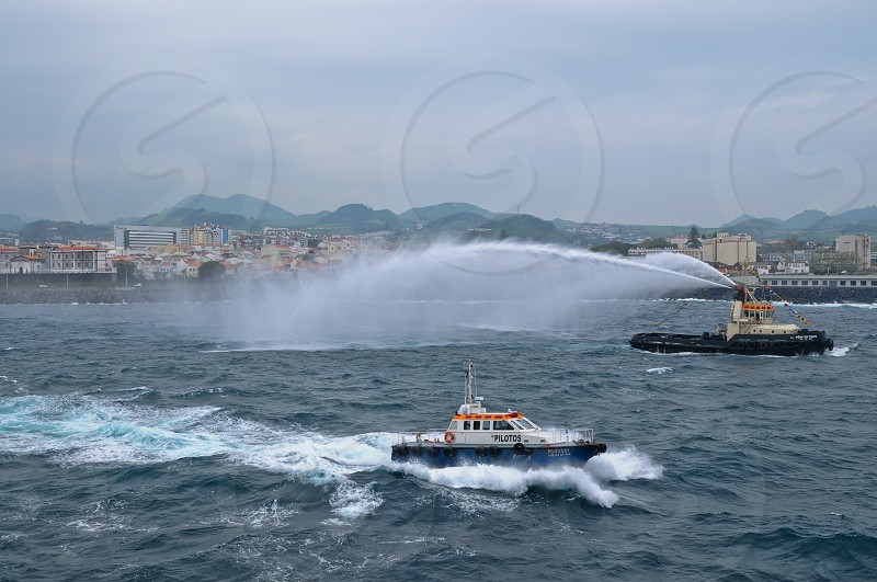 Safe guard pilot boat photo