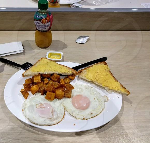 Breakfast at Juan Santamaría International Airport.  photo