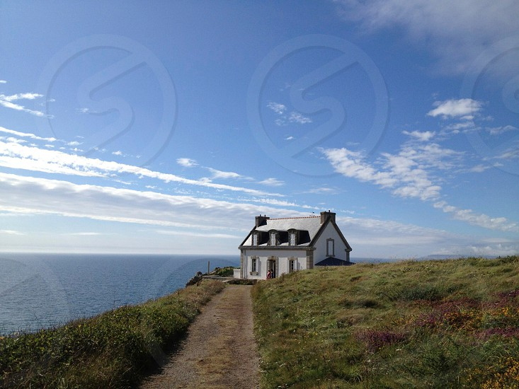 A old lighthouse keepers house photo