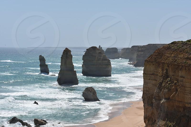 I took these photos at the twelve apostles. photo
