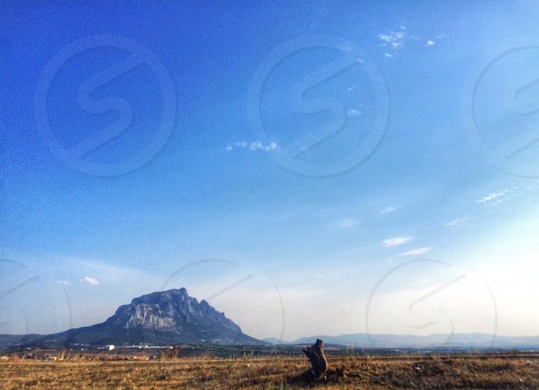mountain horizon landscape travel africa photo