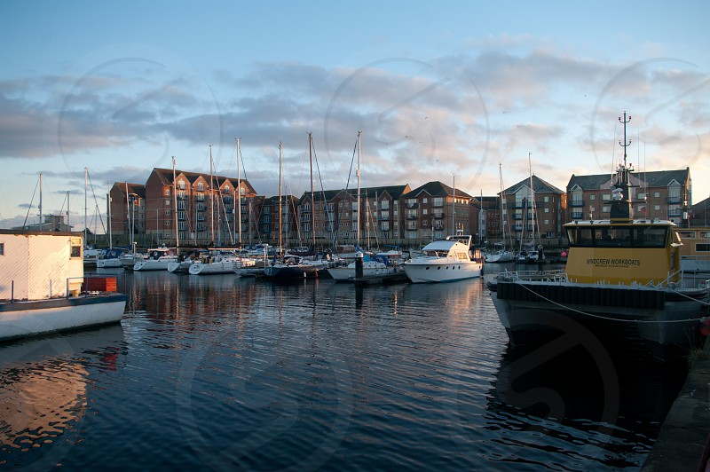 Hartlepool marina photo