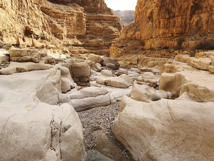 Rocks desert travel Judea Adventure hiking  photo