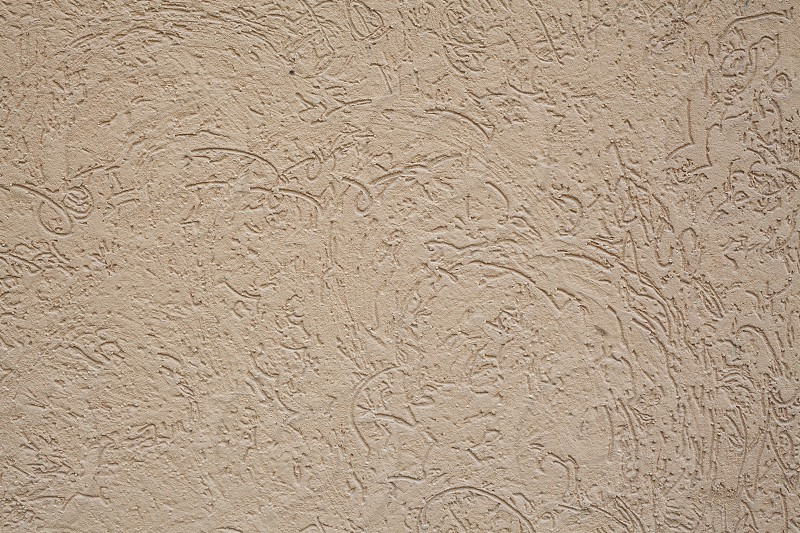 Texture of a decorative wall facade details.  photo