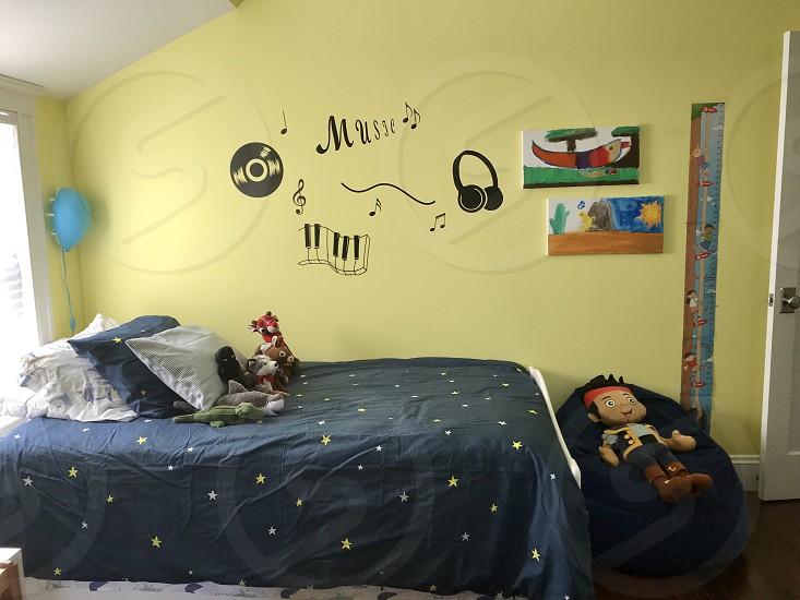 Fun kids bedroom  photo