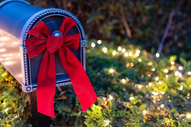 Christmas mailbox photo
