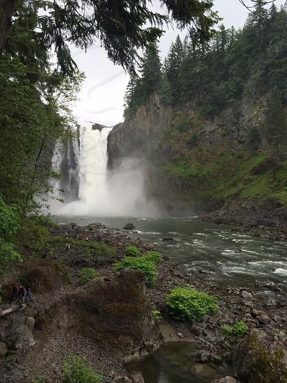 Snoqualmie Falls waterfall Washington nature water river photo