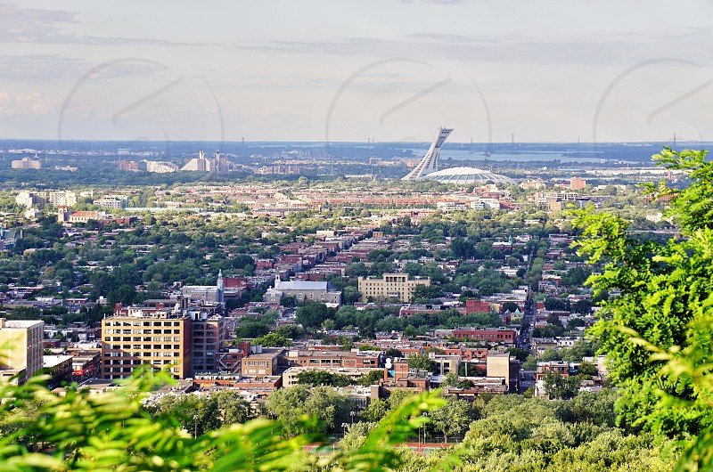 Olympic Park in Montreal Canada photo