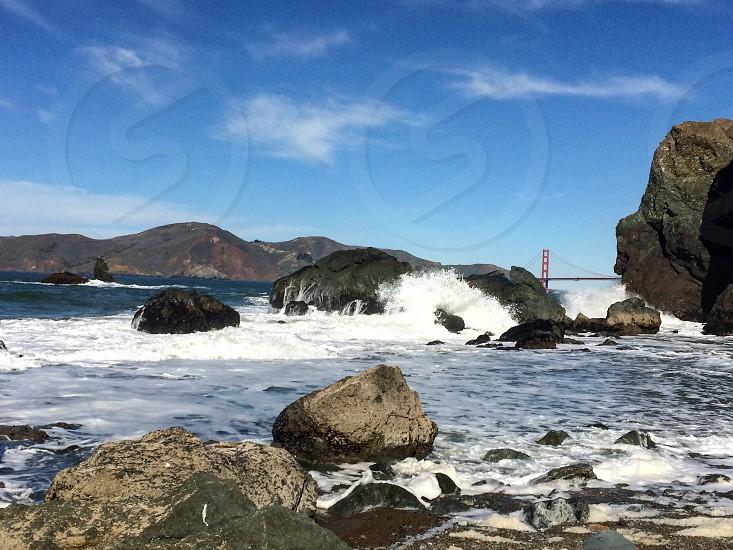 Mile Rock Beach - San Francisco CA photo