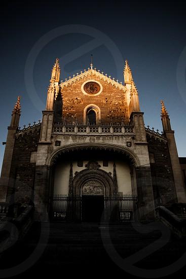 Church Iglesia de Santa Barbara Madrid Spain photo
