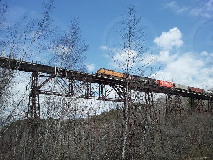 Train Bridge Outside photo