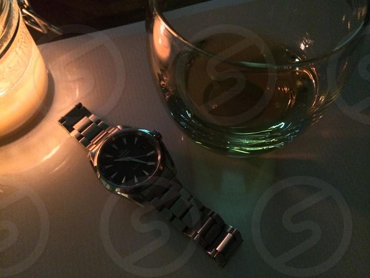 Omega Seamaster and bourbon  photo