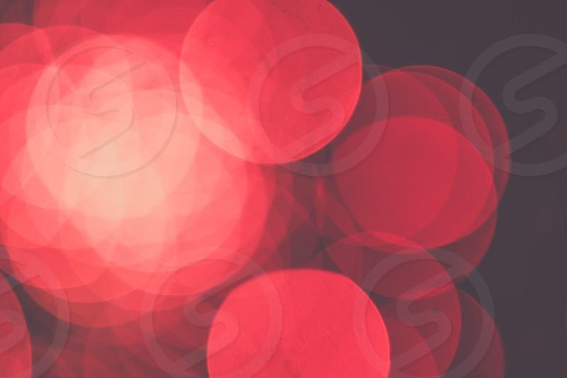 Bokeh Light Fireworks Colors photo