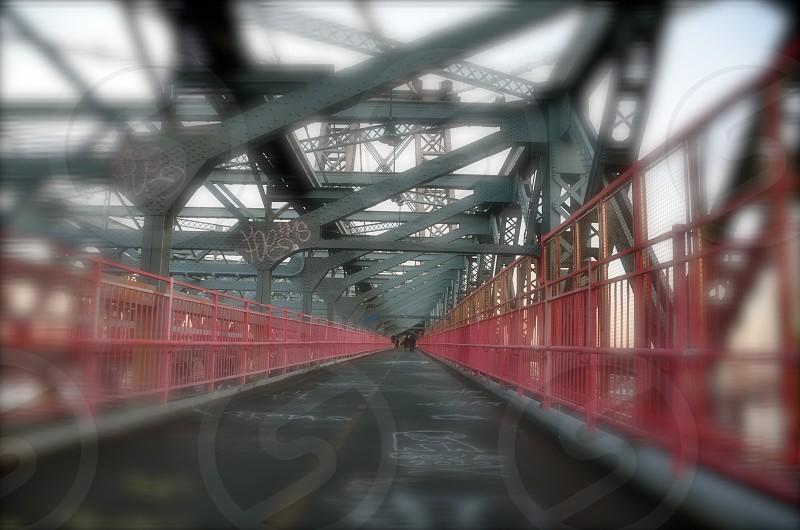 brown and grey steel bridge photo
