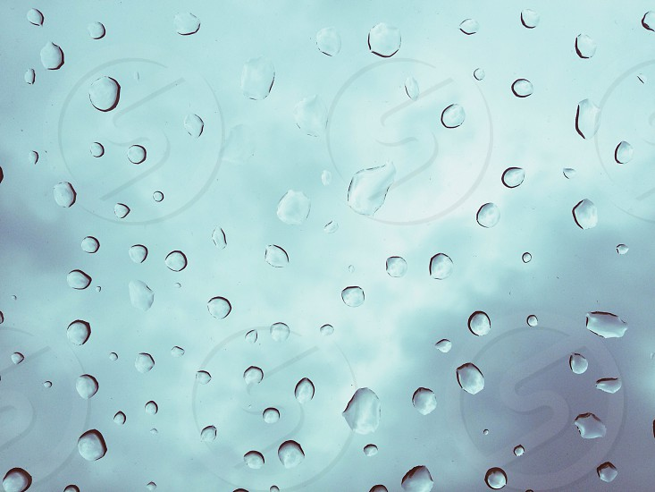 clear droplets photo photo