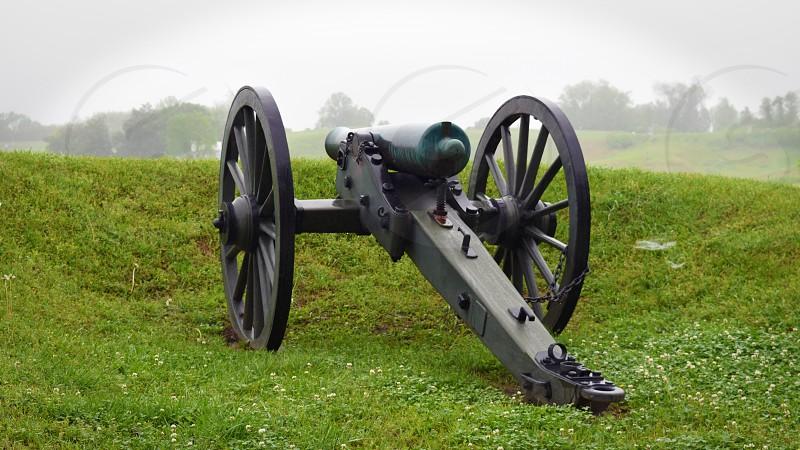 Vicksburg National Military Park in Mississippi. photo