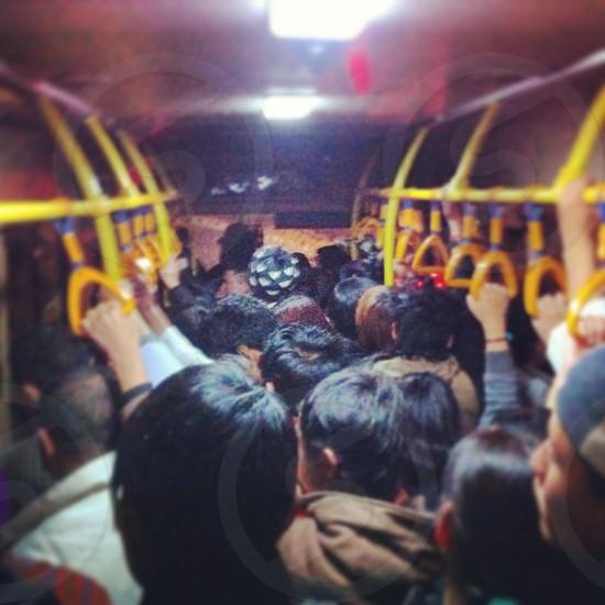 City bus life@ Capitol city of Bhutan  photo
