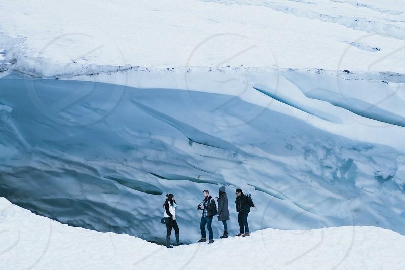 white iceberg photo