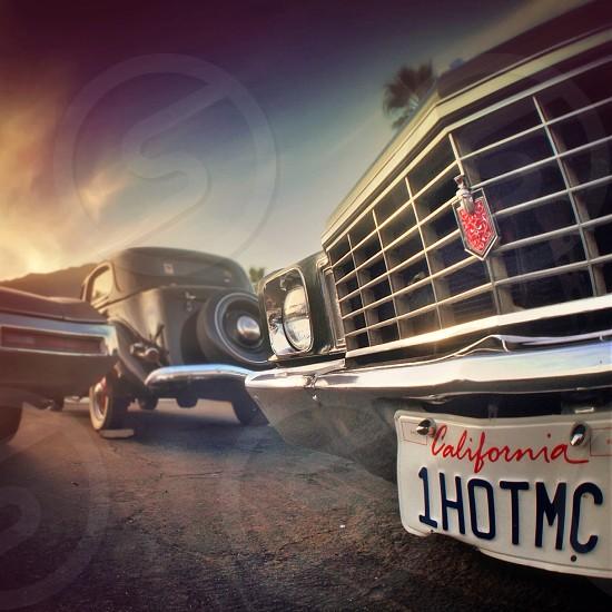 Vintage car ca plate 1HOTMC photo